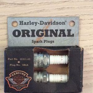 Brand new Harley-Davidson original spark plugs